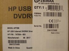 HP F2B56AA - Brand New USB External DVD-RW Drive 747554-001  GP60NB60 .