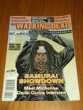 WALKING DEAD #1 NOV/DEC 2012 NEW YORK COMIC-CON EXCLUSIVE MICHONNE  US MAGAZINE