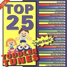 FREE US SHIP. on ANY 3+ CDs! NEW CD Various Artists: Top 25 Toddler Tunes