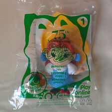 NEW! McDonalds Happy Meal Toy 2013 Wizard of Oz 75th Anniversary #1 DOROTHY TOTO