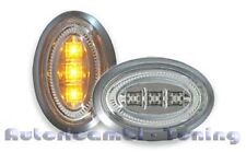 KIT FRECCE FANALI LATERALI LEXUS A LED CROMATE BMW MINI COOPER R55 R56 R57 2006>