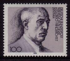 W Germany 1990 Wilhelm leuschner, leader sindacale SG 2316 Gomma integra, non linguellato