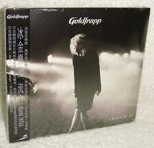 Goldfrapp Tales of Us 2013 Taiwan Ltd CD+ Pin (Button) w/OBI -digipak-