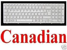 Keyboard for SONY SVE151C11L SVE151D11L SVE151G11L - Backlit White - Canadian CA