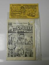 Will Eisner THE SPIRIT Collector Set 10 Comic Sections 50s SIGNED & SEALED NM #1