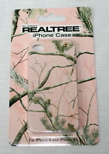 REALTREE AP PINK CAMO IPHONE COVER, PROTECTOR - CAMOUFLAGE I PHONE 4 or 4S