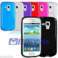 Funda GEL TPU S-LINE para Samsung Galaxy TREND S7560 / S DUOS S7562 / PLUS S7580
