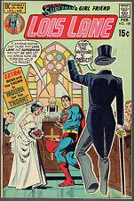 SUPERMAN'S GIRLFRIEND LOIS LANE  108  NM-/9.2  -  Nice day for a weird wedding!