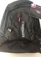 Wenger Black Five Pocket Backpack NWT