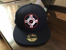Indianapolis Indians New Era Circle City Edition 59FIFTY Navy Fitted 6-7/8 NEW