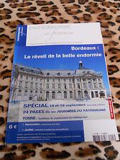 REVUE - PATRIMOINE DE FRANCE - n° 1, 2004 : Bordeaux, spécial journées....