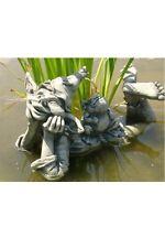 Elfe Holly Gnom Steinguss Vidroflor Gartendekoration Steinfigur