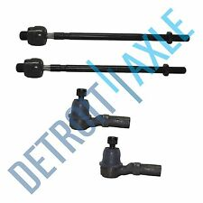 4pc Front Inner & Outer Tie Rod Kit for 1993-1998 1999 2000 2001 2002 Mazda 626