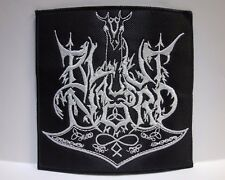 blut aus nord  white logo EMBROIDERED PATCH