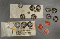 Vintage Burger Chef Lot of Stickers Decals g25