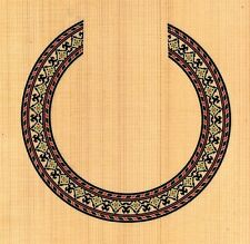 CLASSICAL,GUITAR  ROSETTE,SOUND HOLE, WATERSLIDE DECAL/STICKER HB-259