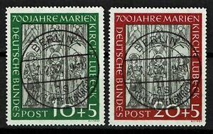 Bund 139-140 gestempelt, Kurzbefund Schlegel BPP, Mi. 170,-
