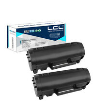 2X 60F1H00 Toner Cartridge for Lexmark MX310dn MX410de MX510de MX511dte MX511dhe