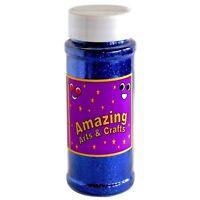 Glitter Blue Shaker Pot Jar 100 grams approx Arts And Crafts