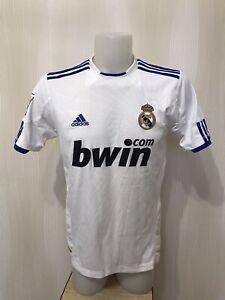 Real Madrid 2010/2011 home Boys L Adidas shirts jersey maillot soccer football