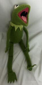 Vintage 1976 Fisher-Price Jim Henson Muppet Kermit the Frog #850 Plush Doll Toy