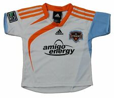 Adidas MLS Soccer Toddlers Houston Dynamo Away Jersey - White
