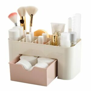 New Saving Space Desktop Cosmetics Makeup Storage Drawer Type Box For Home