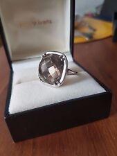 Ring Silber 925 mit Rauchquarz