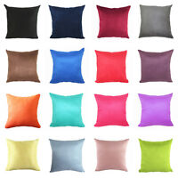 Fashion Candy Color Suede Throw Pillow Case Cushion Cover Home Sofa Car Décor