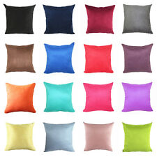 Fashion Candy Color Suede Throw Pillow Case Cushion Cover Home Sofa Car Décor