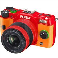 PENTAX DIGITAL SLR CAMERA Q10 SINGLE LENS EVANGELION STANDARD ZOOM 02 ASUKA