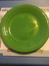 Green 10 1/2 Inch Plate Fiesta Homer Laughlin Lead Free
