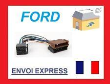 FORD FESTIVA MAVERICK THUNDERBIRD ADAPTATEUR CABLE ISO WIRING HARNESS AUTORADIO
