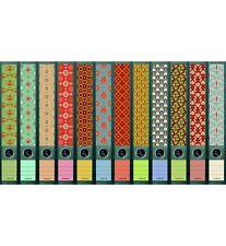 """File Art - 12 schmale Ordnerrücken Design Etiketten """"Pattern""""............607+608"""