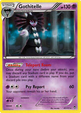 4X Pokemon Furious Fists Gothitelle 41/111 Rare Card