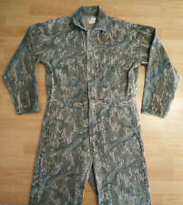 Vintage Mossy Oak Mens Med Camo Treestand Hunting Coveralls Rare Uninsulated USA