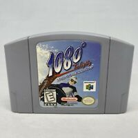 *Good* 1080 Snowboarding Tom Eighty N64 Authentic