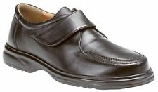 Unbranded 100% Leather Slip Ons Round Shoes for Men