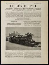 1909, Locomotive Compound, système Mallet, de la Southern Pacific C°