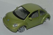 Vintage 1998 MAISTO Volkswagen New Beetle 1/25 Green Color As-Is No Tires