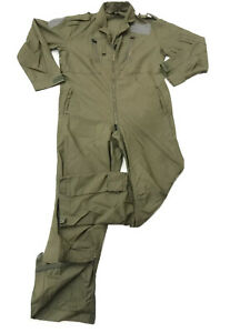 Coverall For Air Crew MK14B Olive Green Various Grades + Sizes