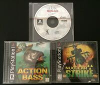 Playstation 1 (PS1) Video Game Bundle - Lot of 3