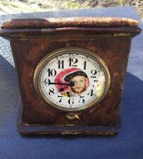 Rey inglesa King Henry VIII - 8 Days reloj de bolsillo reiseuhr pocket watch Rare