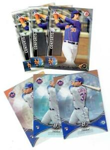 MICHAEL CONFORTO Mets ~ 2016 Bowman Rookie Card Lot ~ FREE SHIPPING