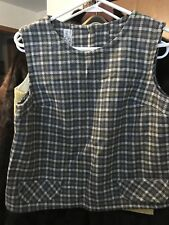 Vintage Wool Vest Nos School Girl Uniform Top 1960's 40 to sell New old Stock