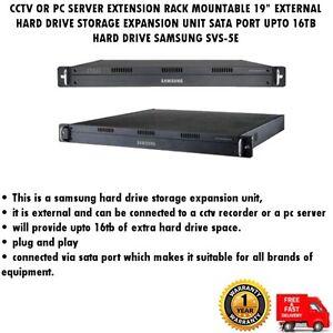"CCTV OR SERVER19""RACK MOUNT HARD DRIVE EXPANSION STORAGE SATA16TB SAMSUNG SVS-5E"