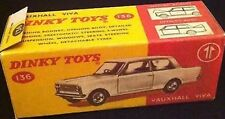 Dinky 136 Vauxhall Viva Empty Repro Box Only