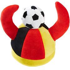 Cappello Tifoso Germania con corna Fan Calcio Coppa del Mondo World Cup Party