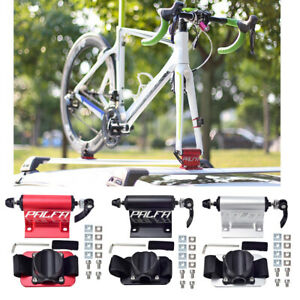 Compact Car Roof Bike Holder Fork Mount Block Rooftop Bicycle Carrier Rack