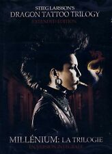 NEW DVD // EXTENDED EDTION //Stieg Larsson's Dragon Tattoo Trilogy -Noomi Rapace